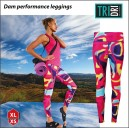 Dam performance leggings