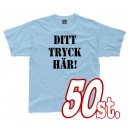 T-shirts 50-pack