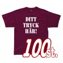 T-shirts 100-pack