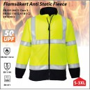 Flamsäker (FR) Antistatisk Hi-Vis Fleece